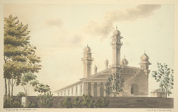 N.E. view of the Jami Masjid, Cuttack (Orissa)